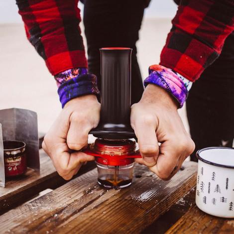 """Zaparzacz do kawy Cafflano """"Kompresso"""""""