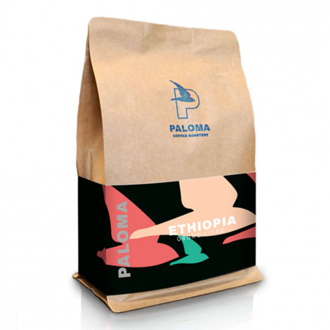 """Kawa ziarnista Paloma Coffee Roastery """"Ethiopia Oromo Citro """", 1 kg"""