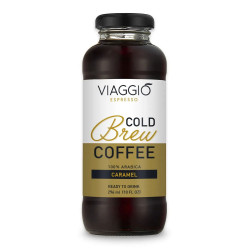 "Cold brew coffee Viaggio Espresso ""Cold Brew Caramel"", 296 ml"