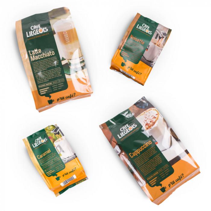 Kavos pagalvėlių rinkinys Café Liégeois