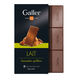 "Czekolada Galler ""Milk Almonds"", 80 g"