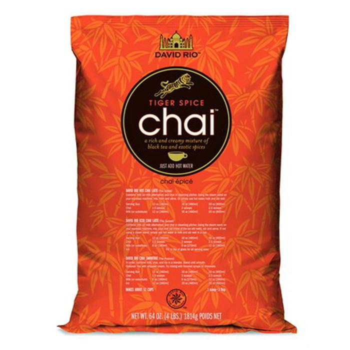 """Herbata o smaku egzotycznych przypraw David Rio """"Tiger Chai"""""""