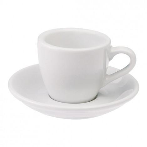 """Espresso krūzīte ar apakštasīti """"Egg White"""", 80 ml"""