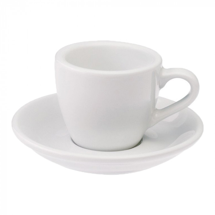 "Espressotasse mit Untertasse Loveramics ""Egg White"", 80 ml"