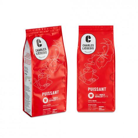 "Set gemalen koffie ""Puissant"", 2 x 250 g"