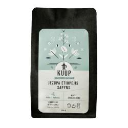 """Specializētās kafijas pupiņas KUUP """"JEZUPA ETIOPEJIS SAPYNS"""" Etiopija Sidomo 250 g"""