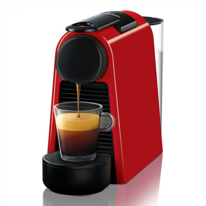 "Coffee machine Nespresso ""Essenza Mini Triangle Red"""