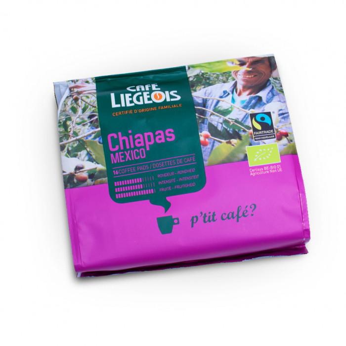 "Kafijas spilventiņi Café Liégeois ""Chiapas"", 16 gab."