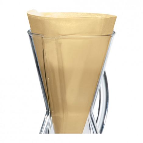 """Papīra filtri """"3 Cups"""", 100gb natural"""
