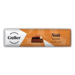 """Suklaapatukka Galler """"Noir Caramel"""", 70 g"""