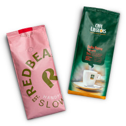 Комплект кофейных зёрен «Gold Label Organic» + «Bella Roma»