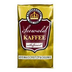"Gemahlener Kaffee Seewald Kaffeerösterei ""Entcoffeiniert"" (Siebträger), 500 g"