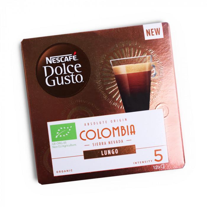 """Kawa w kapsułkach NESCAFÉ Dolce Gusto """"Lungo Colombia"""", 12 szt."""