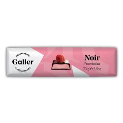"""Suklaapatukka Galler """"Dark Raspberry"""", 70 g"""
