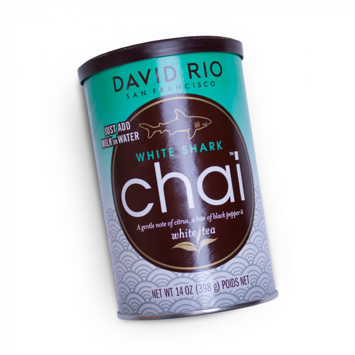 "Tirpi arbata David Rio ""White Shark Chai"", 398 g"