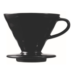 "Ceramic coffee dripper Hario ""V60-02 Matte Black"""