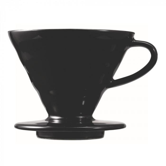 """Ceramic coffee dripper Hario """"V60-02 Matte Black"""""""