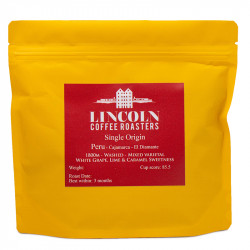 """Coffee beans Lincoln Coffee House """"Peru Washed"""", 250 g"""