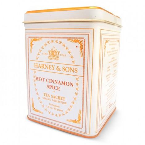 "Aromatizuota juodoji arbata Harney & Sons ""Hot Cinnamon Spice"", 20 vnt."