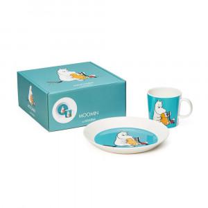 """Lėkštės ir puodelio rinkinys Arabia """"Moomintroll"""""""