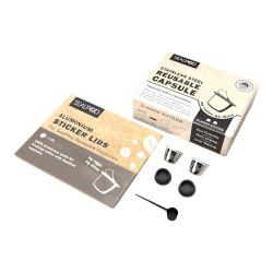 "Herbruikbare capsule compatibel met Nespresso® Sealpod ""Classic Edition"""