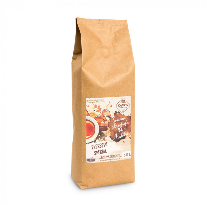 "Jahvatatud kohv Kavos Gurmanai ""Espresso Special"", 500 g"