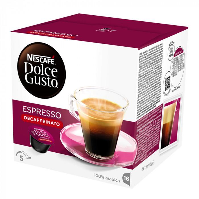 "Kohvikapslid NESCAFÉ Dolce Gusto ""Espresso"" (kofeiinivaba)"