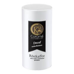 """Gemahlener Kaffee Coroma Kaffeemanufaktur """"Decaf entkoffeiniert Kaffee"""", 500 g"""