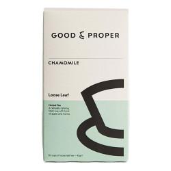 """Žolelių arbata Good and Proper """"Chamomile"""", 45 g"""