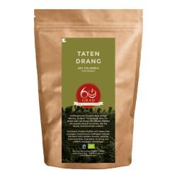 "Kaffeebohnen 60 Grad – Die Kaffeerösterei ""Tatendrang Bio Kaffee"", 500 g"