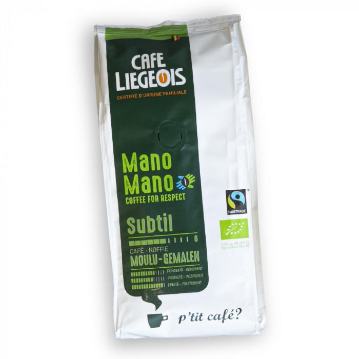 "Kawa mielona Cafe Liegeois ""Mano Mano Subtil"", 250 g"
