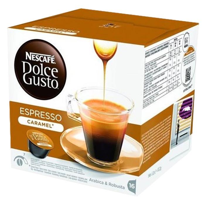 "Kafijas kapsulas NESCAFÉ Dolce Gusto ""Espresso Caramel"", 16 gab."