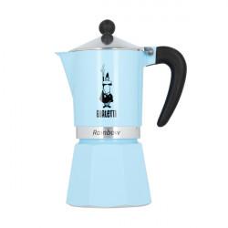 """Kavavirė Bialetti """"Moka Rainbow 6 cups Blue"""""""