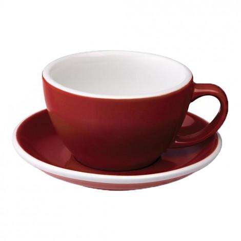 """Café Latte krūzīte ar apakštasīti """"Egg Red"""", 300 ml"""