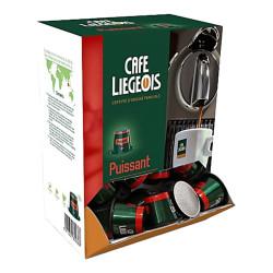 """Coffee capsules Café Liégeois """"Puissant"""", 50 pcs."""