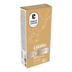 """Kafijas kapsulas Nespresso® automātiem Charles Liégeois """"Caramel"""", 10 gab."""