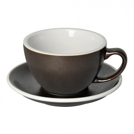 "Café Latte cup with a saucer Loveramics ""Egg Gunpowder</div>