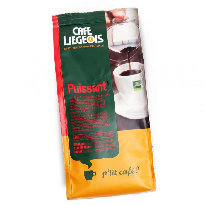 """Ground coffee Café Liégeois """"Puissant"""", 250 g"""