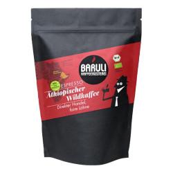 """Kaffeebohnen Baruli Kaffeerösterei """"Äthiopischer Wildkaffee Direct Trade Bio Espresso"""""""
