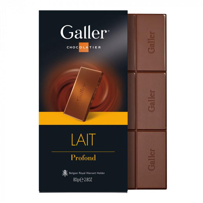 "Šokolado plytelė Galler ""Milk"", 1 vnt."