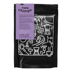 "Coffee beans Two Chimps ""Along came a toothbrush"", 250 g"