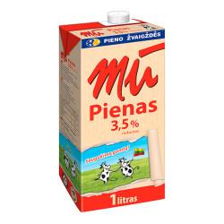 """Pienas """"MŪ"""", 3.5%, 1 l"""