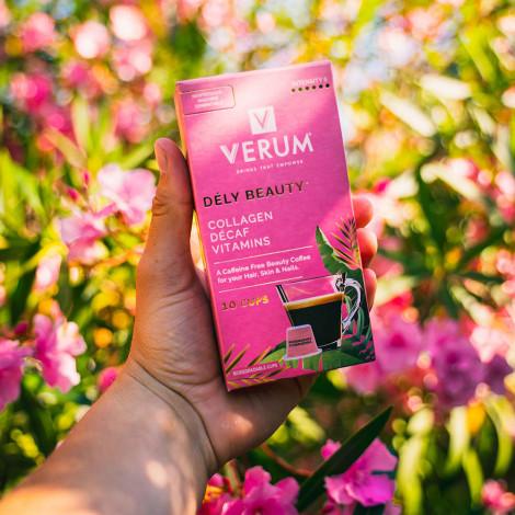 """Kofeiinivabad ilukohvi kapslid sobivad Nespresso® masinatele Verum """"Dély Beauty"""", 10 tk."""
