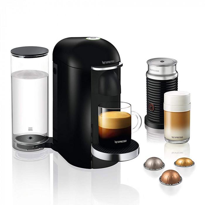 "Coffee machine Nespresso ""VertuoPlus XN902840 + Aeroccino"""
