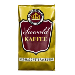 "Gemahlener Kaffee Seewald Kaffeerösterei ""Kaffee Crema"" (French Press), 250 g"