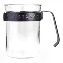 Metallgerahmte Tassen Barista & Co, 2 Stk.