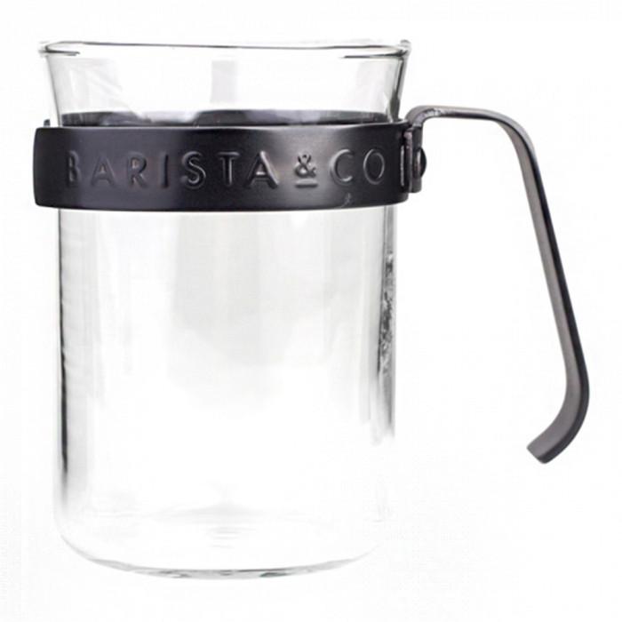 Kavos puodeliai su metaliniu rėmeliu Barista & Co, 2 vnt.