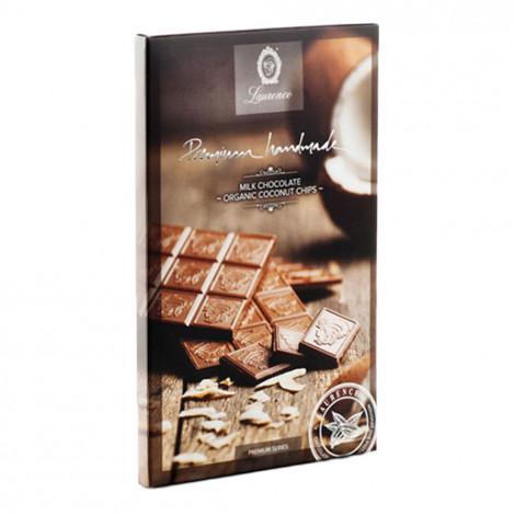 """Vollmilchschokolade mit Kokosraspeln """"Laurence"""", 80 g"""