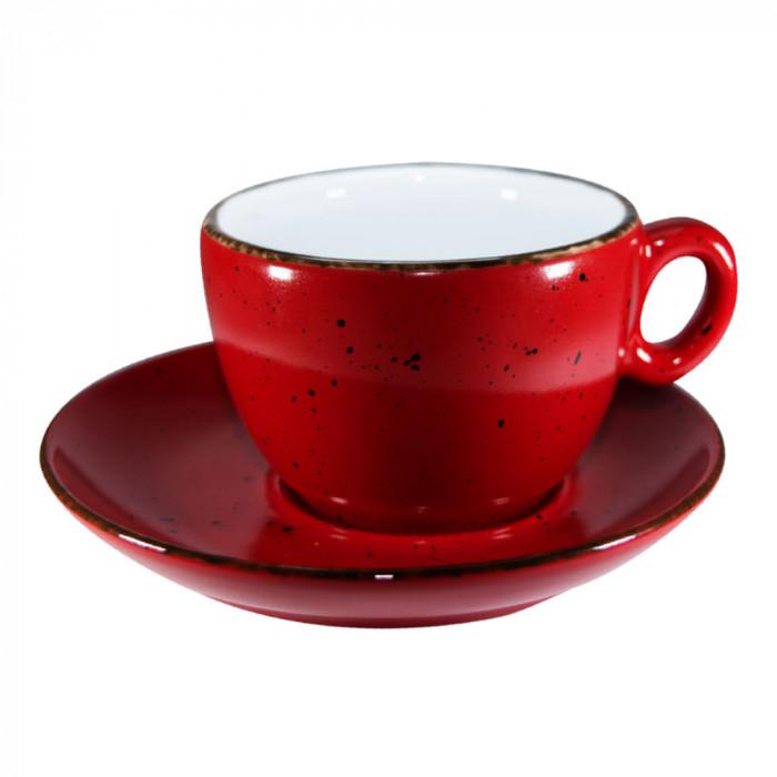 "Kahvikuppi Inker ""Iris Dots Red"", 170 ml"