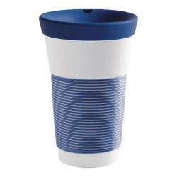 """Mug with a lid Kahla """"Cupit To Go Sea Blue"""", 470 ml"""